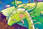 Helen Prole Illustration - helen prole, educational, commercial, digital, mass market, value, activity, colouring, dragons, monsters, creatures