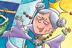 Helen Prole Illustration - helen prole, educational, commercial, digital, mass market, value, activity, colouring, people, queens, grannies, granny, gran, old, woman, women