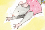 Hannah Whitty Illustration - hannah whitty, commercial, paint, painted, watercolour, picture book, picturebook, fiction, animals, mice, mouse, rats, circus