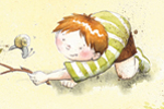 Hannah Whitty Illustration - hannah whitty, commercial, paint, painted, watercolour, picture book, picturebook, fiction, digital, people, children, boys