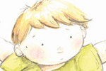 Hannah Whitty Illustration - hannah whitty, commercial, paint, painted, watercolour, picture book, picturebook, fiction, people, children, boys