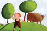 Laura Barella Illustration - laura, barella, laura barella, acrylic, paint, painted, commercial, trade, picture book, picturebook, people, child, children, boy, boys