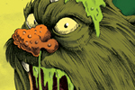 Nick Ward Illustration - nick, ward, nick ward, fiction, paint, painted, commercial, monster, monsters, creature, creatures