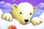 Debbie Tarbett Illustration - debbie tarbett, acrylic, paint, painted, young, sweet, commercial, novelty, board, picture book, picturebook, animals, bears, polar bears, fish, fishes, winter, snowing, arctic, snow