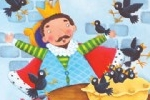 Louise Redshaw Illustration - louise redshaw, acrylic, paint, painted, commercial, picture book, picturebook, educational, people, kings, men, man, nursery rhymes, crows, pies