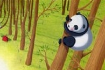 Miriam Latimer Illustration - miriam latimer, acrylic, paint, painted, traditional, commercial, picture book, picturebook, sweet, children, girls, animals, pandas, forests, woods