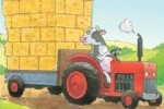 Stuart Trotter Illustration - stuart trotter, stuart, trotter, traditional, paint, painted, digital, commercial, fiction, picture book, picturebook, educational, animals, farm, farmyard, tractor, hay, cows, pigs, sheep, copy artist