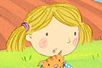 Debbie Tarbett Illustration - debbie, tarbett, debbie, tarbett, digital, colour, photoshop, illustrator, mass market, educational, novelty, young, commercial, picture book, board book, sweet, boy, girl, children, child, animal, cat, tractor, fields, house, ladybird