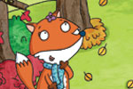 Ian Smith Illustration - ian, smith, ian smith, digital, commercial, sweet, young, picture book, picture book, fiction, educational, animals,fox,trees, autumn, seasonal, bird, colourful, YA, cute