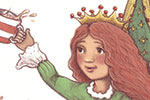 Jennifer Miles Illustration - jennifer, miles, jennifer miles, watercolour, traditional, painted, educational, picture book, commercial, digital, girly, cute, sweet, young, girl, royal, crowns, girls, friends, tea, rat, mouse, rabbit, thrones, table