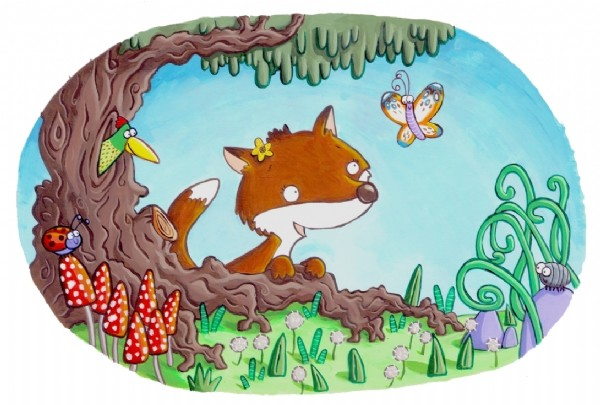 Ian Smith Illustration - ian smith, digital, commercial, sweet, young, picture book, picturebook, animals, foxes