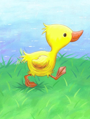 Debbie Tarbett Illustration - debbie tarbett, acrylic, paint, painted, young, sweet, commercial, novelty, board, picture book, picturebook, animals, ducklings, ducks, ponds