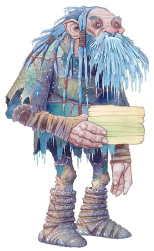 Graham Howells Illustration - graham, howells, graham howells, commercial, fiction, fantasy, paint, painted, watercolour, dwarf, dwarves, old, oldman, people