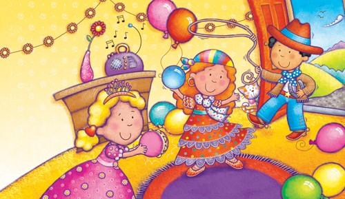 Helen Prole Illustration - helen prole, educational, commercial, digital, mass market, value, activity, colouring, people, pastel, princesses, queens, party, celebration, cowboys, gypsies, gypsy, birthday, fancy dress