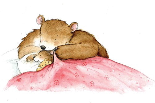 Hannah Whitty Illustration - hannah whitty, commercial, paint, painted, watercolour, picture book, picturebook, fiction, animals, bears