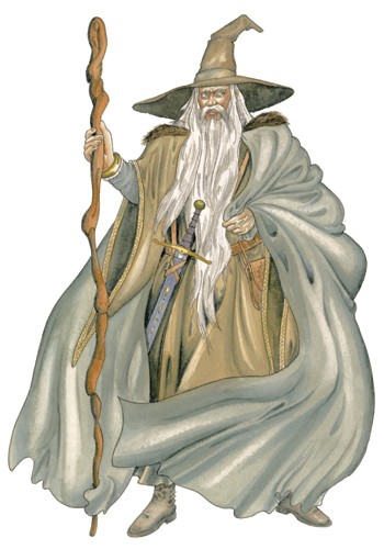 Peter Wilks Illustration - eter, wilks, peter, wilks, peter wilks, paint, painted, educational, traditional, watercolour, people, man, wizard, gandalf, fantasy