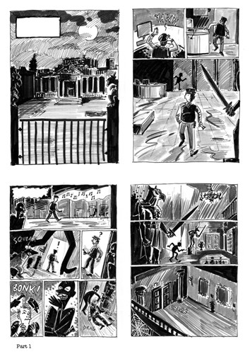 Sam Hearn Illustration - sam hearn, storyboards, storyboarding, story board artist, story board illustrator, comics, graphic novels