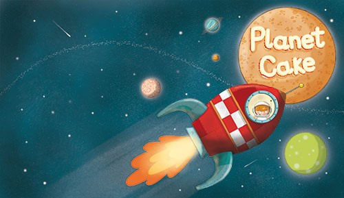 Ana Garcia Illustration - ana, garcia, ana garcia, commercial, educational, mass market, novelty, board books, activity, puzzle, board games, digital, photoshop, illustrator, young, YA, young reader, rocket, planets, girl, child, person