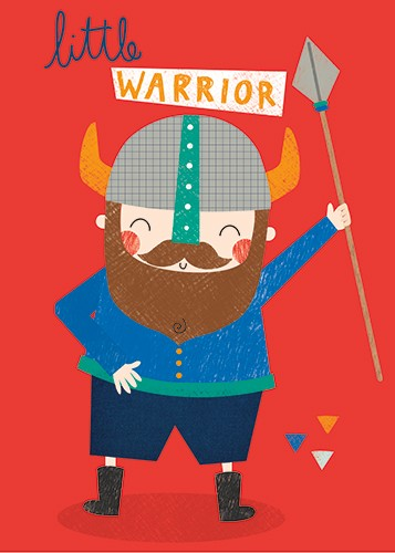 Damien & Lisa Barlow Illustration - Damien, Lisa, Damien & Lisa, Barlow, digital, photoshop, board book, trade, mass market, greetings cards, gift wrap, stationary, fiction, picture book, surface pattern design, colourful, textured, illustrator, sweet, cute, young, fun,nordic, vikings, warr
