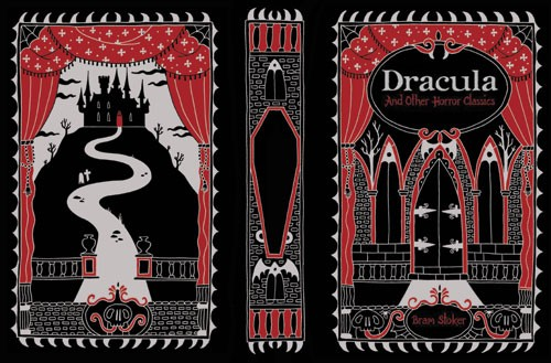 Emily Twomey Illustration - emily twomey, emily, twomey, painted, traditional, young reader, YA, picture book, picturebook, dracula, pattern, decorative, story, castle, dark