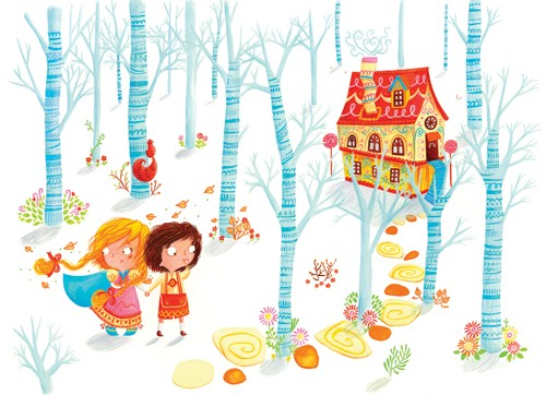 Emma Randall Illustration - emma, randall, emma randall, commercial, trade, editorial, girly, cute, sweet, young, fiction, picture book, greetings cards, paint, painting, digital, photoshop, illustrator, girls, females, child, children, kids, boys, males, brothers, sisters, siblings