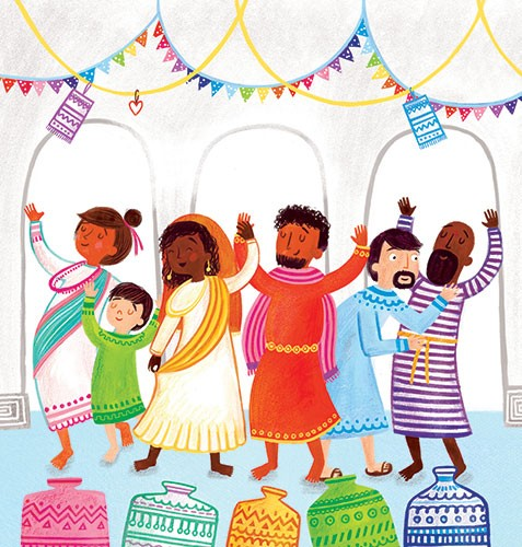 Emma Randall Illustration - emma, randall, emma randall, commercial, trade, sweet, young, picture book, educational, paint, painting, digital, photoshop, illustrator, celebration, family, cultural, party, bunting, colour, colourful, dancing, lanterns,