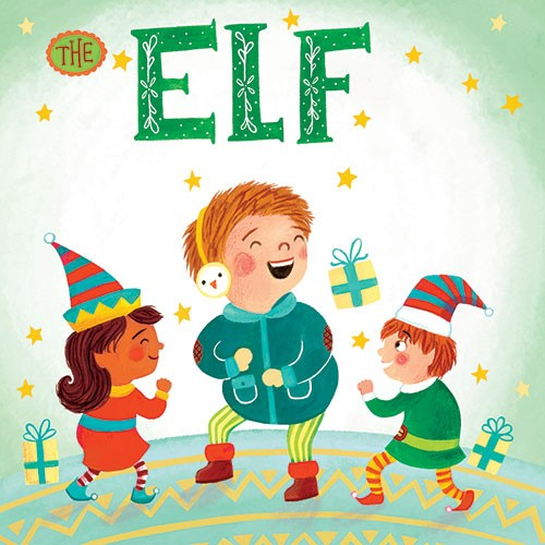 Emma Randall Illustration - emma, randall, emma randall, commercial, trade, editorial, girly, cute, sweet, young, fiction, picture book, greetings cards, paint, painting, digital, photoshop, illustrator, people, children, boys, girls, elves, pixies, christmas, elf