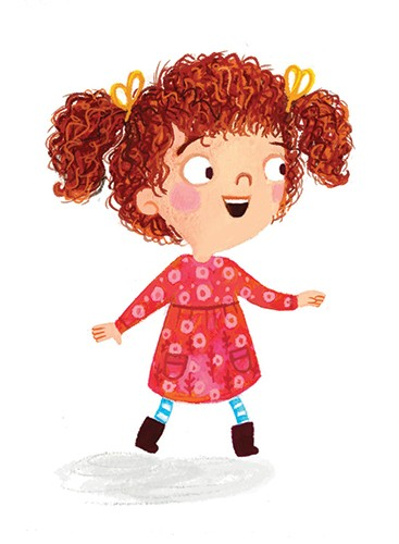 Emma  Randall  Illustration - emma, randall, emma randall, commercial, trade, editorial, girly, cute, sweet, young, fiction, picture book, greetings cards, paint, painting, digital, photoshop, illustrator, people, children, girls, girl