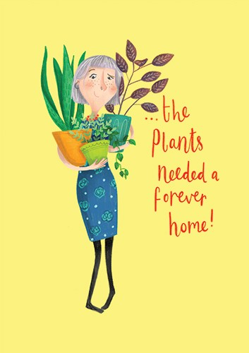 Jessica Rose Illustration - jes, oconnor, jes oconnor, illustrator, illustration, digital, photoshop, trade, picture book, lady, flowers, person, quirky, plants, floral, text