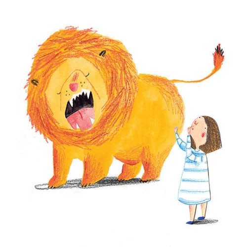 Kate Chappell Illustration - kate, chappell, kate chappell, trade, commercial, fiction, editorial, picture book, hand drawn, gouache, pencil, crayon, digital, photoshop, girls, lions, animals, dresses, friends