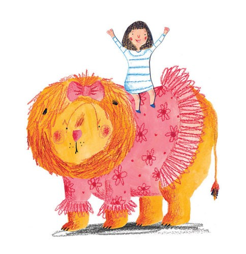 Kate Chappell Illustration - kate, chappell, kate chappell, trade, commercial, fiction, editorial, picture book, hand drawn, gouache, pencil, crayon, tutu, humour, digital, photoshop, girls, lions, animals, friends