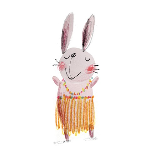 Kate Chappell Illustration - kate, chappell, kate chappell, trade, commercial, fiction, editorial, picture book, hand drawn, gouache, pencil, crayon, digital, photoshop, rabbit, bunny, cute, sweet, animal