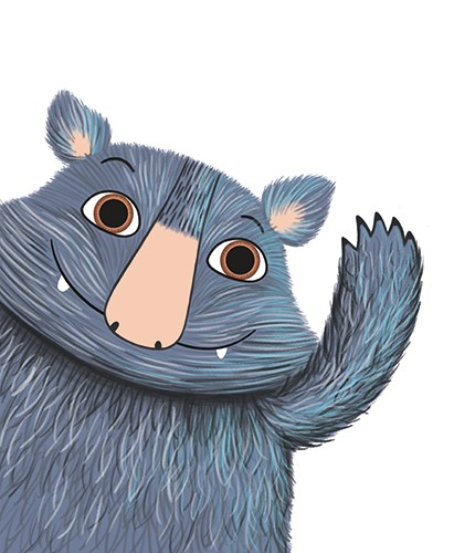 Katy Halford Illustration - katy, halford, fiction, picture book, commercial, characters, moz the monster, john lewis, christmas advert, christmas, seasonal, festive, YA, young reader