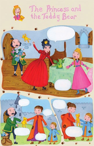 Louise Redshaw Illustration - louise redshaw, acrylic, paint, painted, commercial, picture book, picturebook, educational, novelty, queens, kings, princesses, girls, boys, people, children