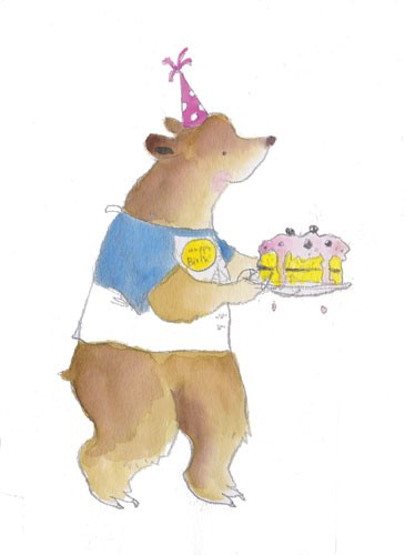 Mel Howells Illustration - mel, howells, mel howells, traditional, painted, watercolour, pen, ink, commercial, trade, fiction, educational, picture book, animals, bears