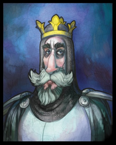 Sean Hayden Illustration - sean hayden, sean, hayden, paint, painted, digital, traditional, commercial, educational, fiction, picture books, king, crown, monarch, royal, ruler