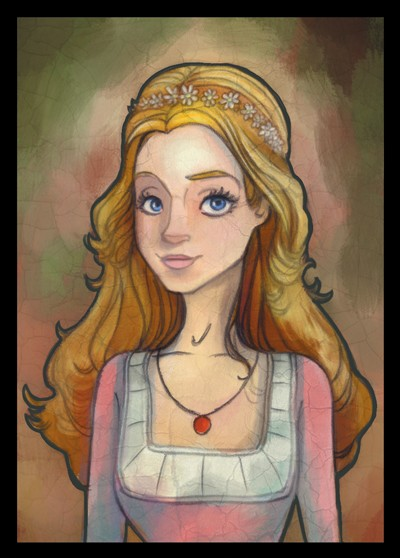 Sean Hayden Illustration - sean hayden, sean, hayden, paint, painted, digital, traditional, commercial, educational, fiction, painterly, princess, royal, family, monarch, pretty, girly, crown, tiara