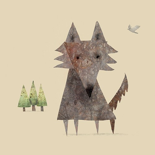 Stephen Hogtun Illustration - stephen, hogtun, stephen hogtun, drawing, paint, pen, pencil, trade, traditional, commercial, picture book, picturebook, story, colour, outdoors, outside, animals, wolves, wolf, nature, wild,
