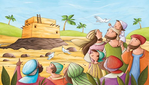 Simona Sanfilippo Illustration - simona, sanfilippo, simona sanfilippo, commercial, picture book, fiction, educational, digital, painterly, photoshop, illustrator, YA, young reader, bible, bible stories, old testament, colour, colourful, jesus, people, characters
