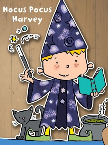 Tania Hurt-Newton Illustration - tania hurt newton, tania hurt-newton, digital, young, commercial, educational, novelty, board, people, children, boys, wizards, magic, magical