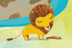 Purificacion Hernandez Illustration - Purificacion, hernandez, purificacion hernandez, commercial, trade, fiction, greetings cards, cute, sweet, young, picture books, activity, stationary, digital, photoshop, illustrator, painted, zoo, animals, lions, panda, babies, mummy, family, YA, young r