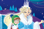 Susana Diaz Illustration - susana, diaz, susana diaz, commercial, educational, fiction, editorial, teenager, ya,young adult, comics, story boards, animation, young reader, digital, illustrator, photoshop, graphic novels, princess, snow, frozen, ice, cold, seasonal, palace, sleigh,