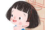 Sara Sanchez Illustration - sara sanchez, sara, sanchez, digital, texture, photoshop, illustrator, trade, commercial, mass market, picture book, ella, girl, mum, home, mess, food, cookies, tidying, utensils