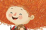 Tim Budgen Illustration - tim, budgen, tim budgen, illustration, picture book, YA, young reader, trade, character, colourful, illustrator, photoshop, cute, sweet, girl, child, puppy, pet, pattern