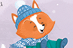 Tim Budgen Illustration - tim, budgen, tim budgen, illustration, picture book, YA, young reader, trade, character, colourful, illustrator, photoshop, animals, fox, badger, snow, trees, snow, weather