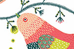 Valeria Valenza Illustration - valeria, valenza, valeria valenza, paint, painted, traditional, digital, decoration, decorative, trade, sophisticated, picture book, quirky, vector, colours, pattern, flowers, floral, birds, repeat, repeating pattern